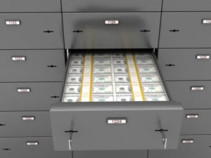 Safe Deposit with Cash