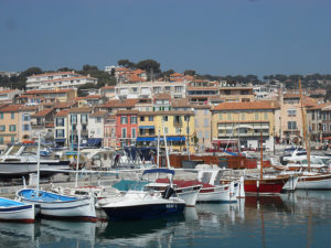The harbor town of Cassis – the Riviera as it used to be.
