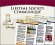 Lifetime Society Communique