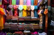 Colorful scarves, old bazaar, Istanbul