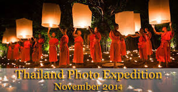 Thailand Photography Expedition And Floating Lantern Festival
