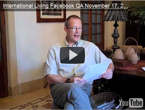 International Living's Facebook Q&A on Moving Overseas
