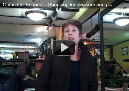 Video: Shopping for Leather in Cotacachi, Ecuador