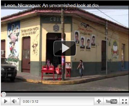 Video Postcard: A Tour of Downtown León, Nicaragua