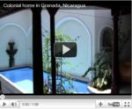 Video: A Restored Colonial Home in Granada, Nicaragua for $150,000