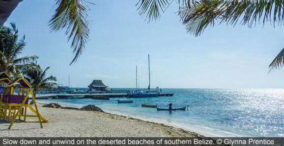 Overlooked Village in Caribbean Belize