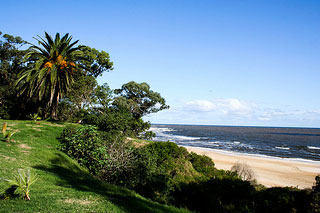 Atlántida, on the Gold Coast, is the best small town beach in Uruguay.