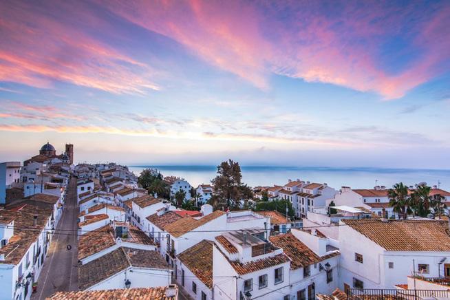 Spanish Seaside Town