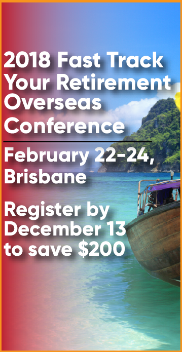 Fast Track Your Retirement Overseas Conference