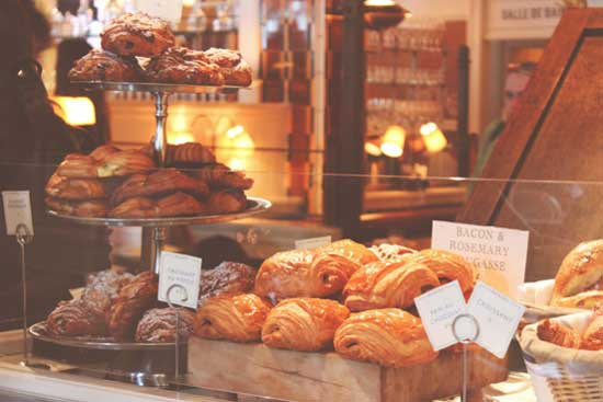 croissants are famously consumed in france