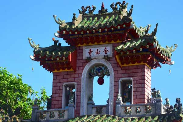 Chinese Temple in Vietnam