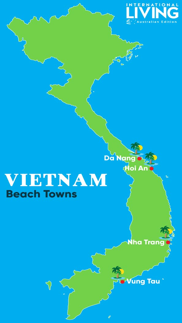 The Best Towns for Beaches in Vietnam