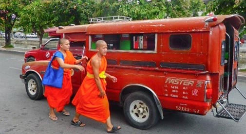 How Do I Get from Bangkok to Chiang Mai?