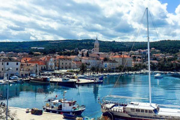 Supetar, Brac Island, Croatia