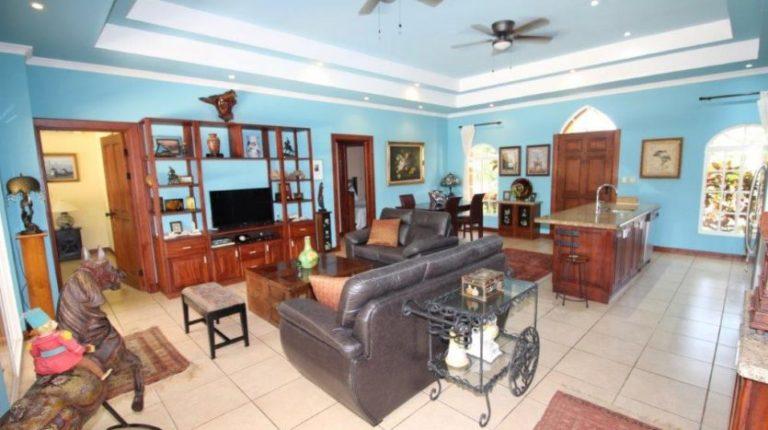 Bejuco Beach Home Living Room