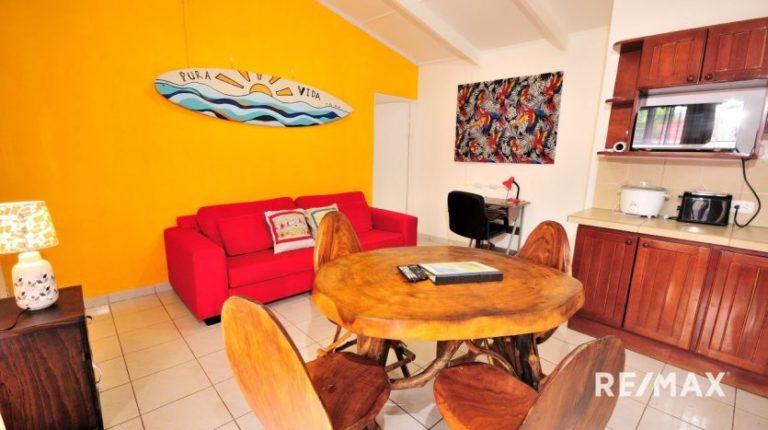 Paradise-Condo-Jaco-Beach-Living Room