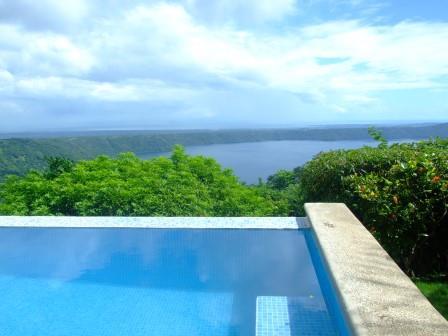 Laguna de Apoyo pool view