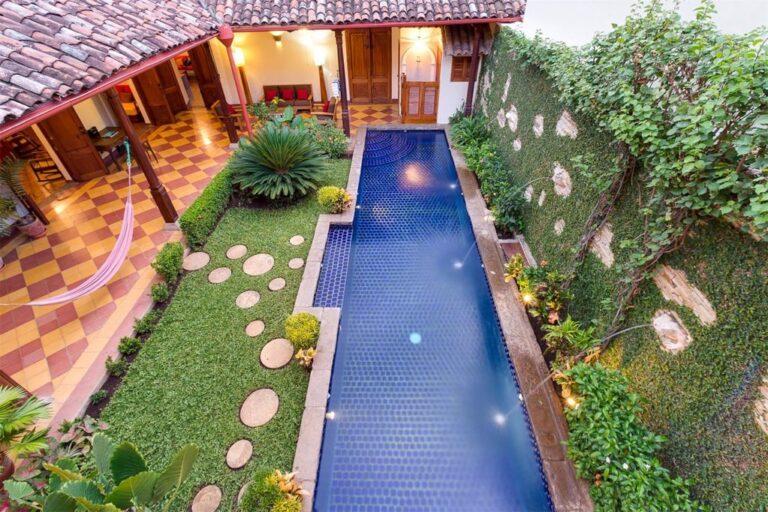 pool in granda house