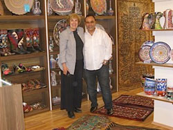 Judy Miranda enjoys exotic travel, cultural exchange, and healthy profits fr her import-export business.