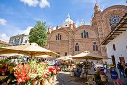Cuenca colonial city