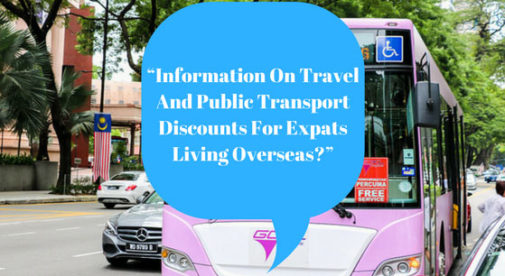 Travel And Public Transport Discounts For Expats Living Overseas