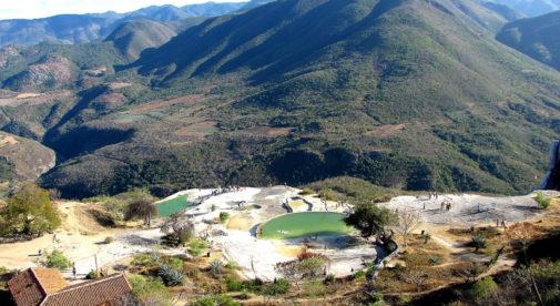 Visiting Hierve el Agua, Mexico