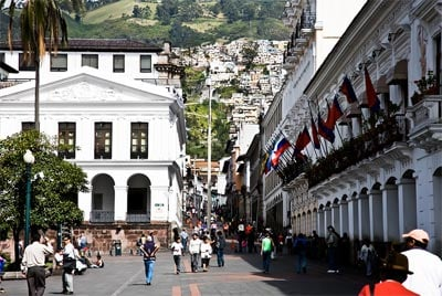 Quito ecuador the most beautiful big city in south america for Best city to leave in usa
