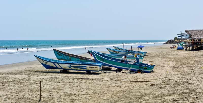 Crucita beach