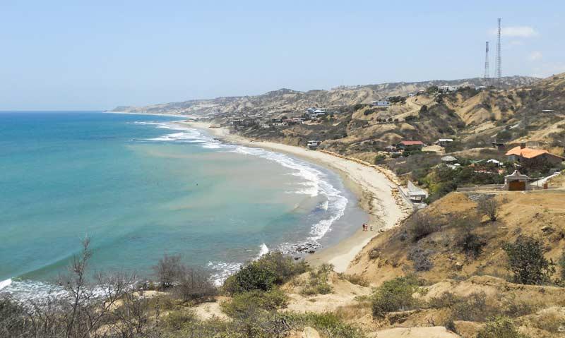 Santa Marianita beach