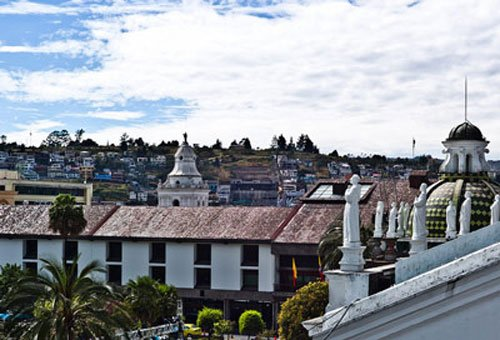 Quito's Old Town is the largest historic center in the Americas as well as being the first-ever locale to be designated as a UNESCO World Heritage site.