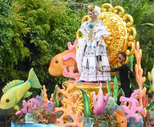 Some of the best carnival celebrations and the prettiest polleras, Panama's national dress, can be  found in Pedasi.