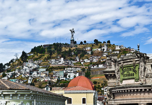 Quito, Ecuador's capital, sits right on the equator and was named the world's first UNESCO World Heritage site. The city is home to the country's best hospitals and universities.