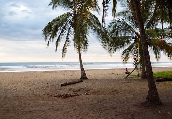 A quiet residential community, you won't find much in Bejuco except a few gated communities and a beach you can have all to yourself most days