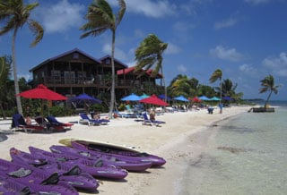Beaches in Ambergis Caye: The Secret Beaches of Ambergris Caye