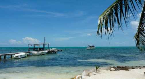 Caye Caulker, White Sand Beaches