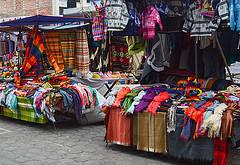 Otavalo street market