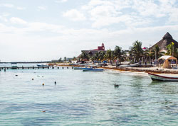 Yucatán Gulf coast