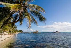 'Caye Caulker, Belize' from the web at 'https://internationalliving.com/wp-content/uploads/2015/12/Page-14-15-Caye-Caulker-Belize-Credit-michalzak-Istock-300x204.jpg'
