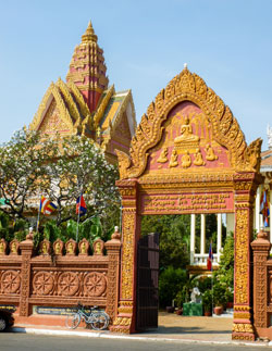 In Cambodia, you can fill yourself with delicious food for less than $5. ©International Living