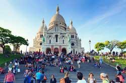 Basilique Du Sacre Coeur, Montmartre, France