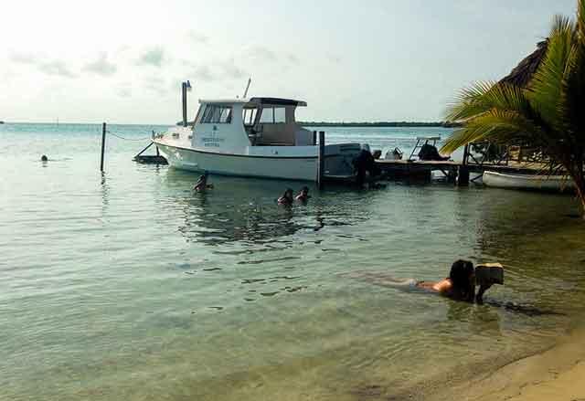 Boat Tour Belize