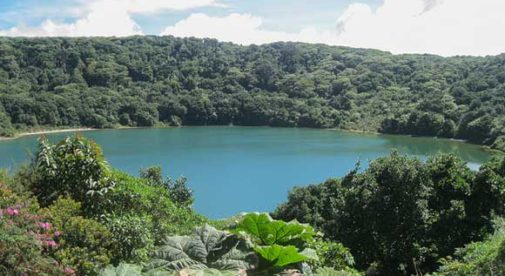 Laguna Botos Poas volcano, Central Valley, Costa Rica