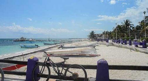 Puerto Morelos, Mexico, Beach Town Mexico