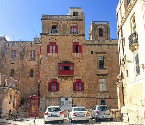 Valletta's long past is ever-present due to its historic architecture.