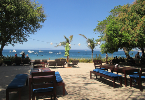 With restaurants and bars along the beach, Playa Ocotal is a great place to spend the day lazing in the sun.