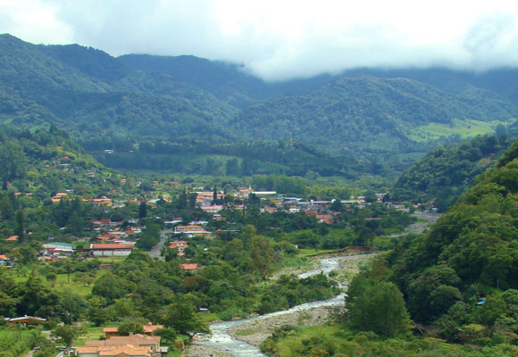 The mountain town of Boquete, known for its spring-like weather and stunning beauty, has a large expat community.