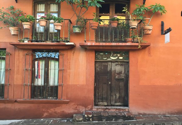 Homes in San Miguel de Allende, like other colonial cities, must maintain strict historical architectural standards.