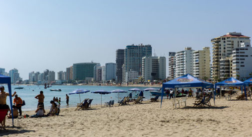 Salinas, Beach in Ecuador
