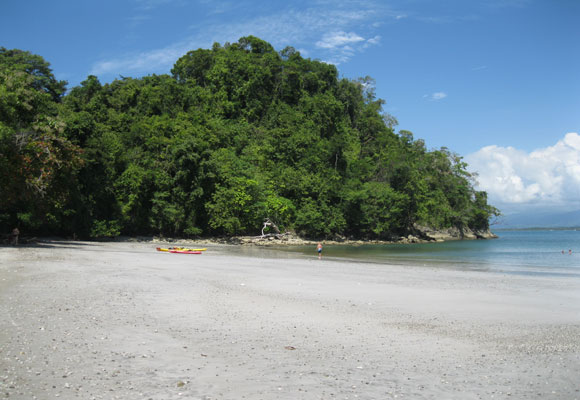 Even in the tourist hotspot of Manuel Antonio on the central Pacific, you can find quiet retreats like Playa Biesanz.