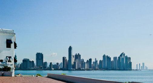 Casco Viejo, view of Panama